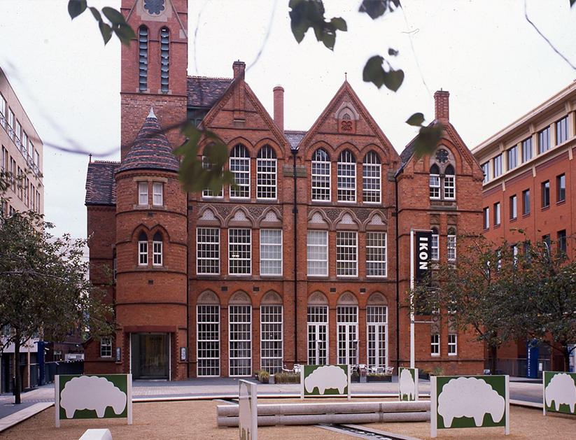Ikon, Oozells Square, Brindleyplace, Birmingham